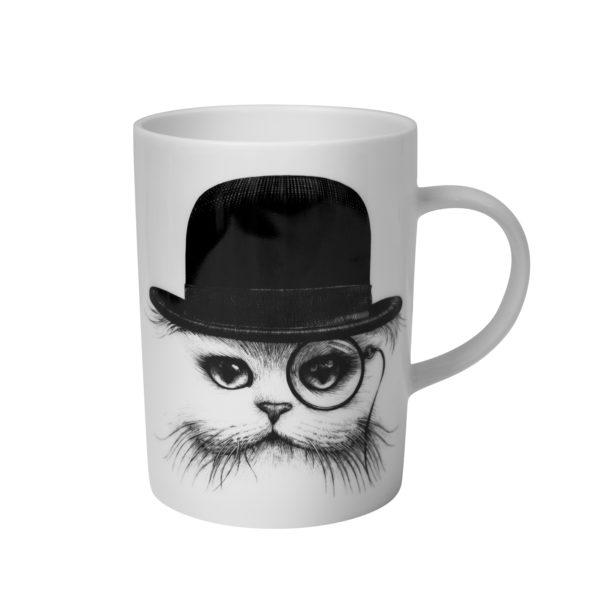 cat in hat marvellous mug