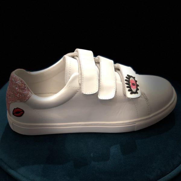 Sneakers Edith heart Eyes Bons baisers de Paname