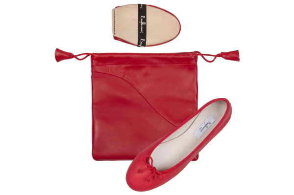 Bagllerina intemporelle rouge