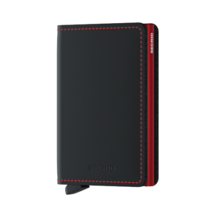 Secrid_S-_Matte_BlackRed_Front