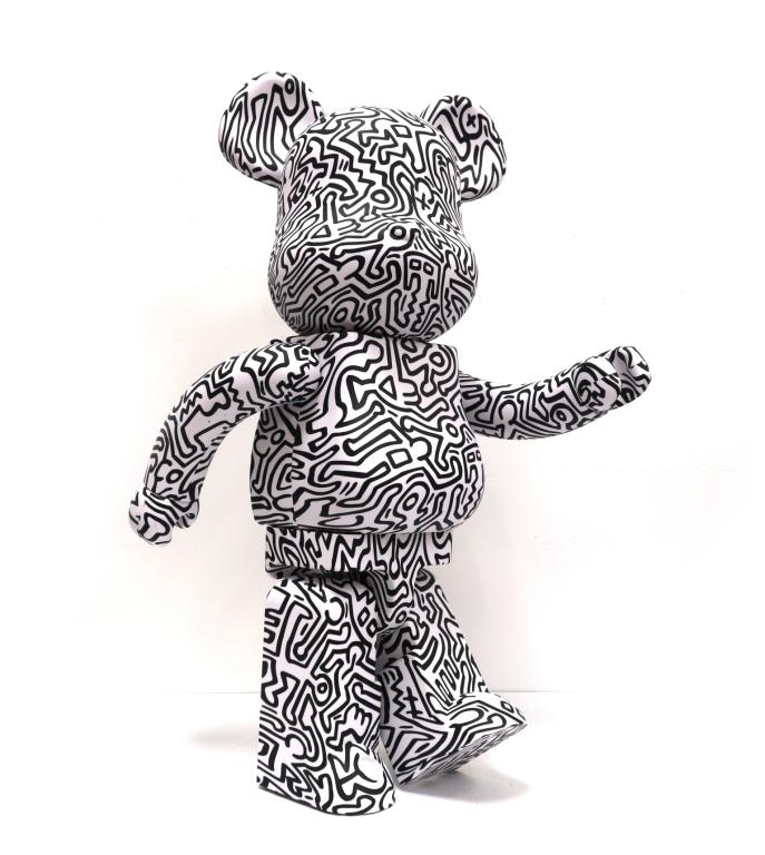 Bearbrick Keith Haring
