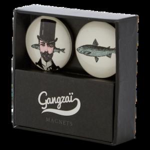 Gangzai AristoFish magnet
