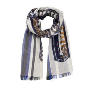 Inouitoosh-ss20-echarpe-coton-soie-stylo-plume-epistolaire-blanc